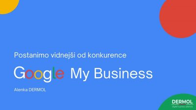 Google My Business spletni tečaj